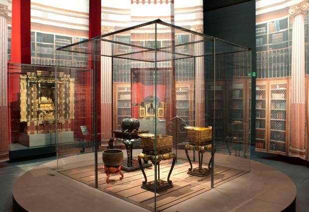 Scénographie Atelier de scénographie Pascal Payeur, Paris / Photo : MEG, V. Tille