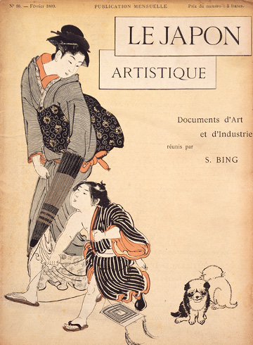Le Japon artistique: Documents d'art et d'industrie, No.10; Siegfried Bing (ed.); Feb. 1889; 33.0 x 26.0cm
