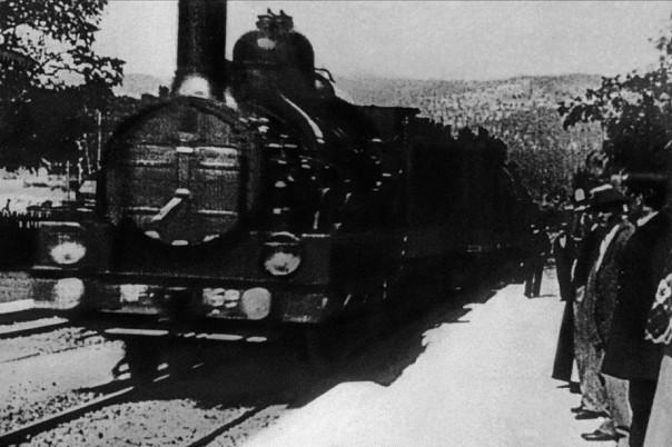 Imagen de la película de los hermanos Lumière
