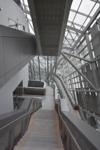 Musée des Confluences. Vista del interior.