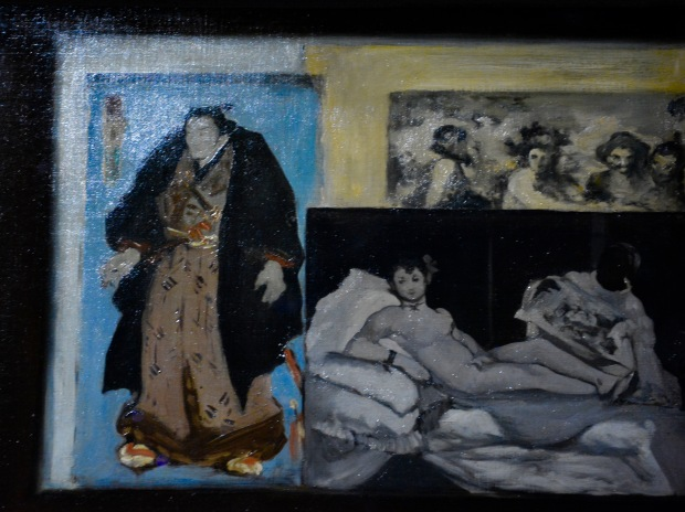 Detalle del cuadro de Édouard Manet