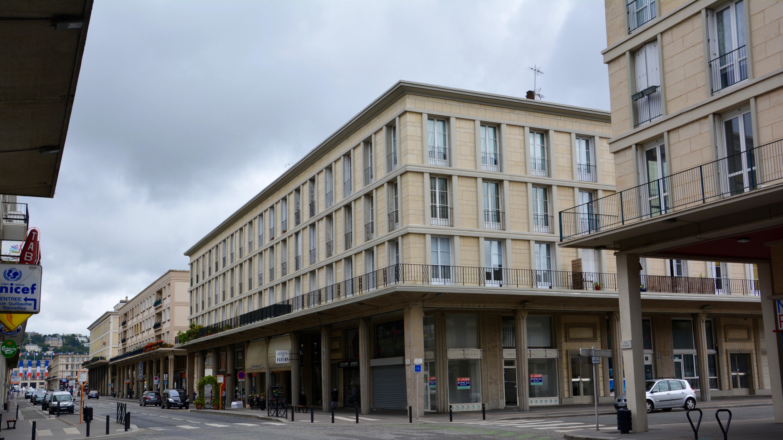 Rue de Paris Le Havre