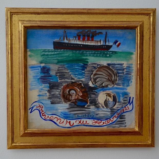 Souvenir du Havre Dufy
